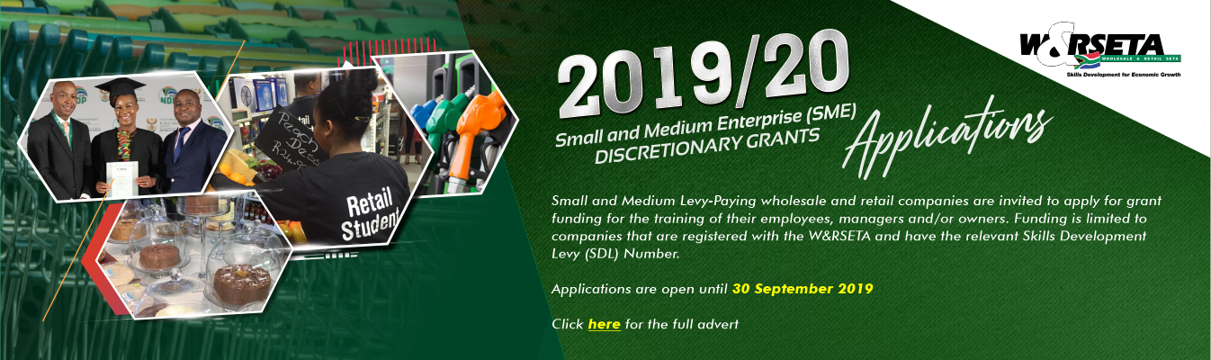 2019/20 SME Discretionary Grants